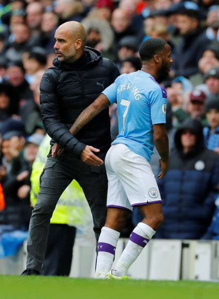 Pep Guardiola says he is not looking at the Premier League table and is more concerned with Manchester City's performances following the win over Aston Villa.