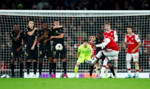 """Unai Emery hailed Nicolas Pepe's match-winning impact as """"perfect"""" after Arsenal's club-record signing came off the bench to see off Vitoria Guimaraes."""
