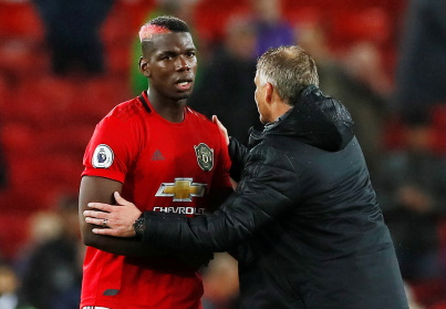 Manchester United midfielder Paul Pogba has suffered another setback.