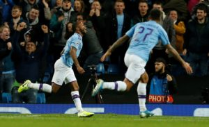 Pep Guardiola's side had to be patient but sub Raheem Sterling set them on their way to a deserved 2-0 win against a stubborn Dinamo Zagreb side.