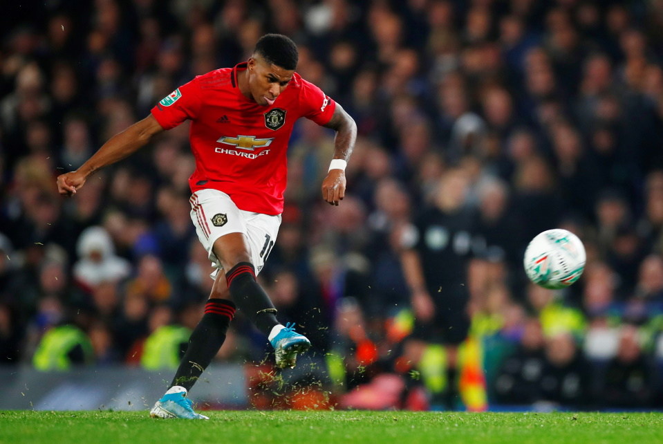 Ole Gunnar Solskjaer saluted Marcus Rashford's wonder-strike as Manchester United defeated Chelsea 2-1 at Stamford Bridge in the Carabao Cup.