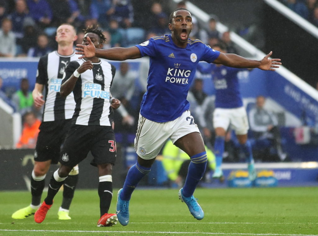 """Leicester City full-back Ricardo Pereira is """"up there with the best"""" players in his position, according to manager Brendan Rodgers."""