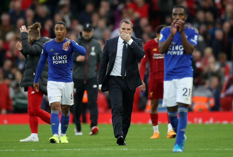Leicester manager Brendan Rodgers admits conceding a last-minute winner against Liverpool was hard to take and says the penalty award was 'soft'.