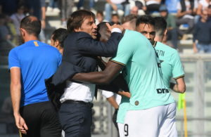 Romelu Lukaku hit out at Inter Milan's defending after they held on to secure a 4-3 Serie A win against Sassuolo on Sunday.