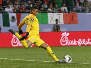 Manchester City have told Fortuna Dusseldorf to forget all about signing goalkeeper Zack Steffen on a permanent basis.