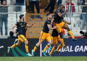 Willy Boly's injury time effort sealed Wolves their first points in Europa League Group K after a 1-0 win against Turkish side Besiktas at Vodafone Park.