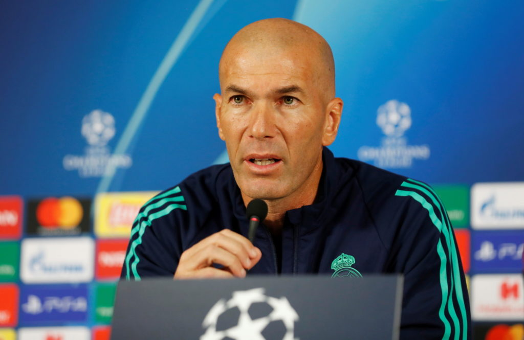 Real Madrid boss Zinedine Zidane is refusing to bow to the pressure as he targets Champions League victory at Galatasaray on Tuesday night.