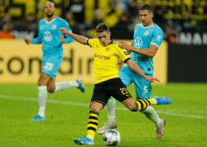 Thorgan Hazard says Borussia Dortmund are fully focused on the Champions League visit of Inter Milan on Tuesday.