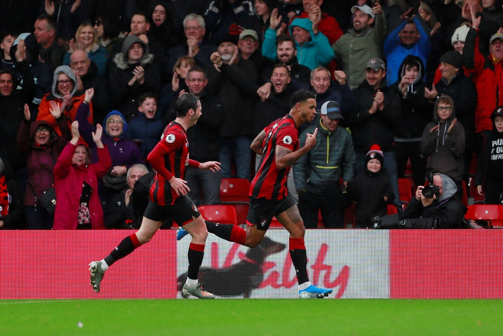 Striker Joshua King scored the only goal of the game as Bournemouth edged a 1-0 Premier League victory at home to Manchester United.
