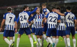 Substitute Leandro Trossard scored one goal and set up the other as Brighton secured a 2-0 victory at home to struggling Norwich City.