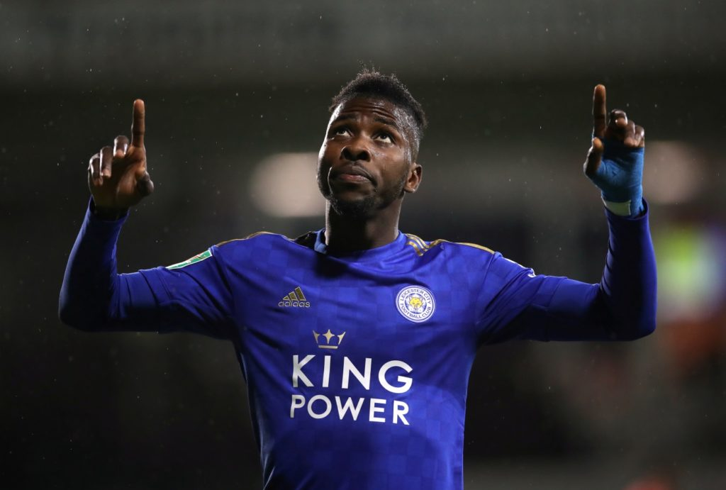 Brendan Rodgers says Kelechi Iheanacho still has a long-term future at Leicester despite his lack of first-team minutes this season.