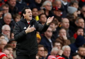 Unai Emery is facing the sack.