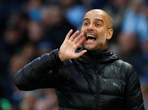 Manchester City boss Pep Guardiola says they are a victim of their own success.