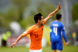 """Ajax starlet Naci Unuvar claims he is fully focused on the Netherlands' Under-17 World Cup campaign despite being """"flattered"""" by Barcelona's interest."""