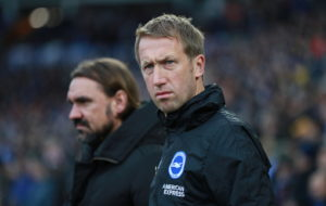 Graham Potter hopes Seagulls can kick on.