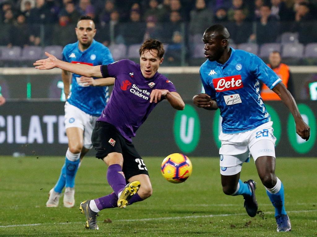 Mancini dit à Chiesa de la Fiorentina de s'amuser - Championnat d'Europe 2020