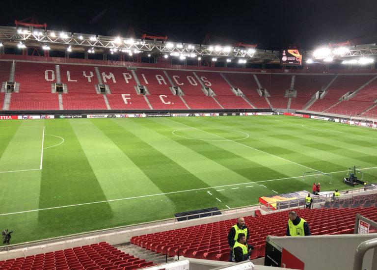 Olympiakos v Wolverhampton Wanderers – UEFA Europa League – Round of 16 – First Leg – Karaiskakis Stadium