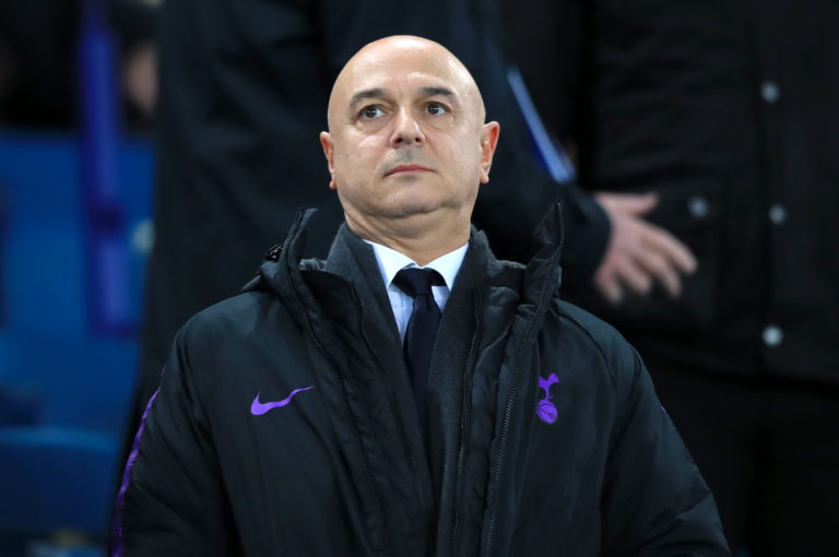 Tottenham chairman Daniel Levy is under intense pressure