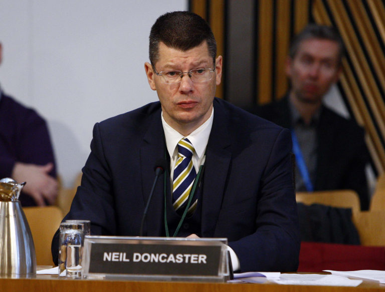Neil Doncaster is chief executive of the SPFL