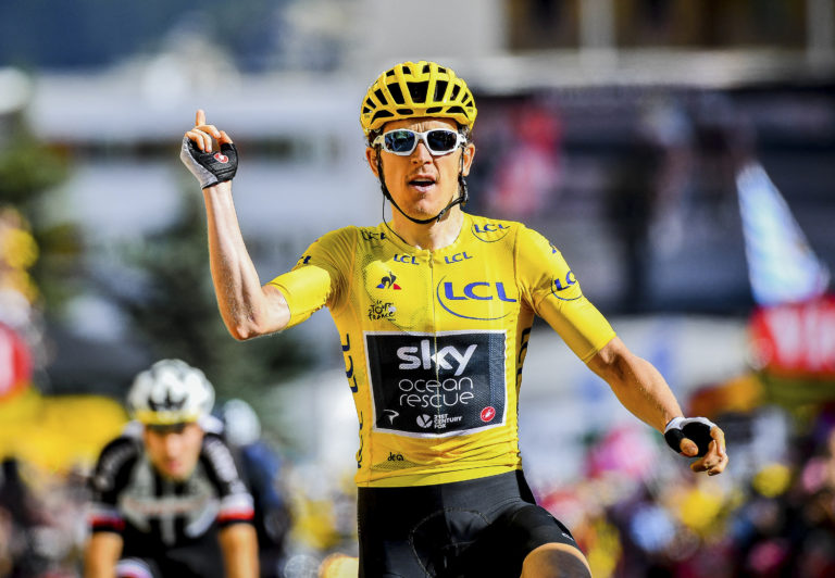 Geraint Thomas is crossing his fingers for another shot at the Tour de France's yellow jersey this year.