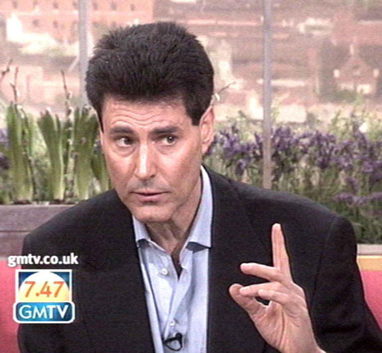 Uri Geller called on the nation to unleash its healing powers on GMTV to mend David Beckham's crocked left foot