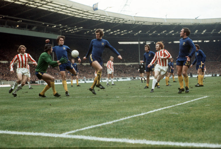 Bonetti, pictured making a save against Stoke in 1972, represented the Blues until 1979