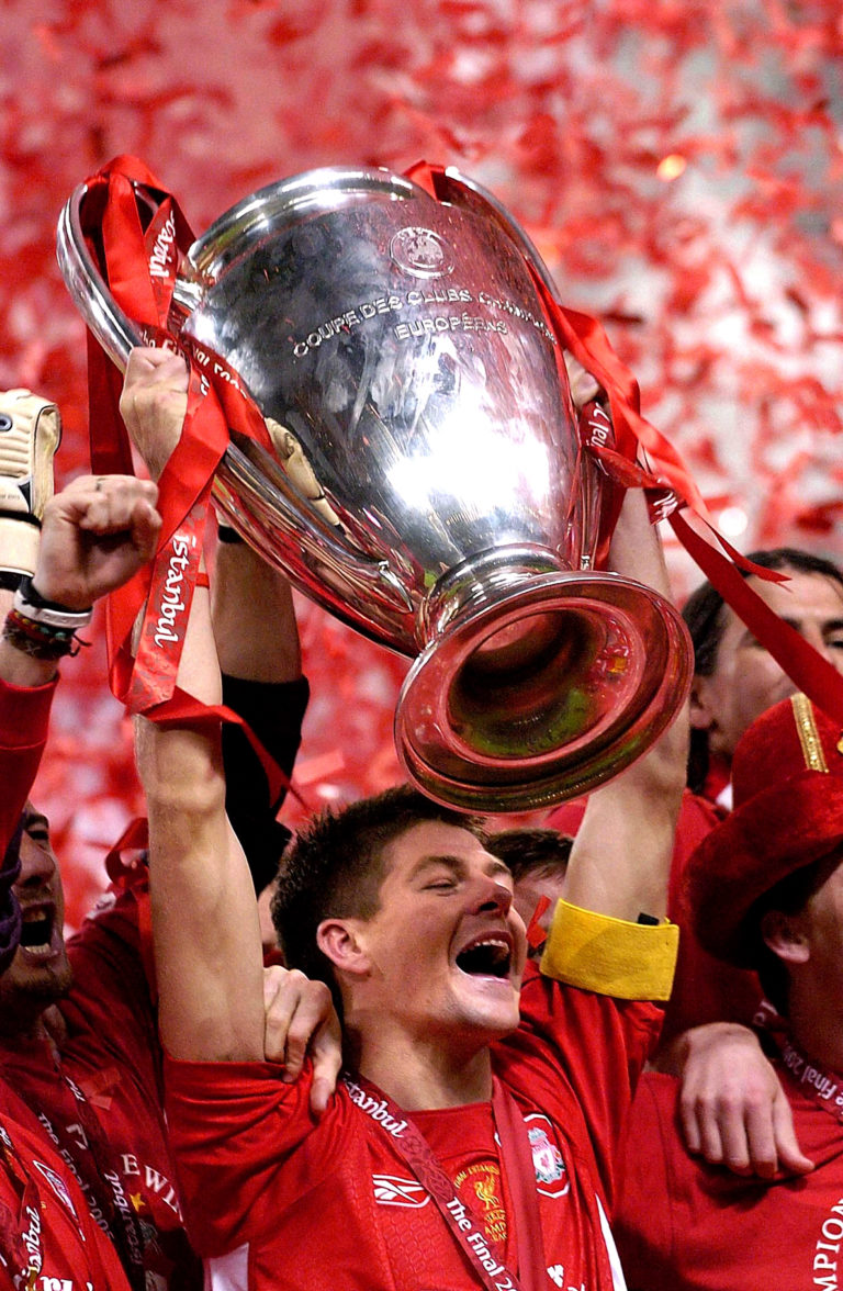 Steven Gerrard is Liverpool's greatest player in many fans' eyes