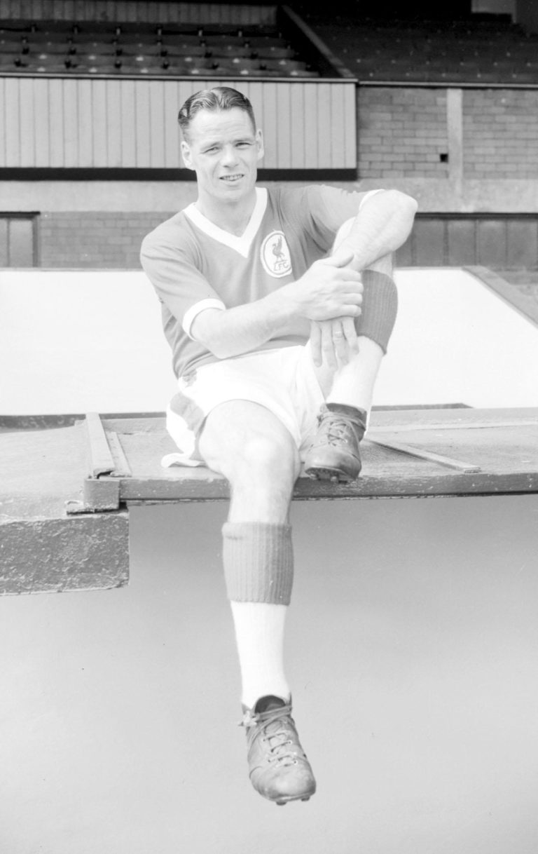 Liddell was a winger who played a pivotal role in keeping the club in Division Two