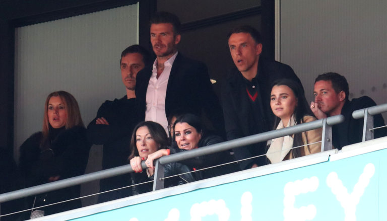 Gary Neville, David Beckham and Phil Neville are among Salford's co-owners
