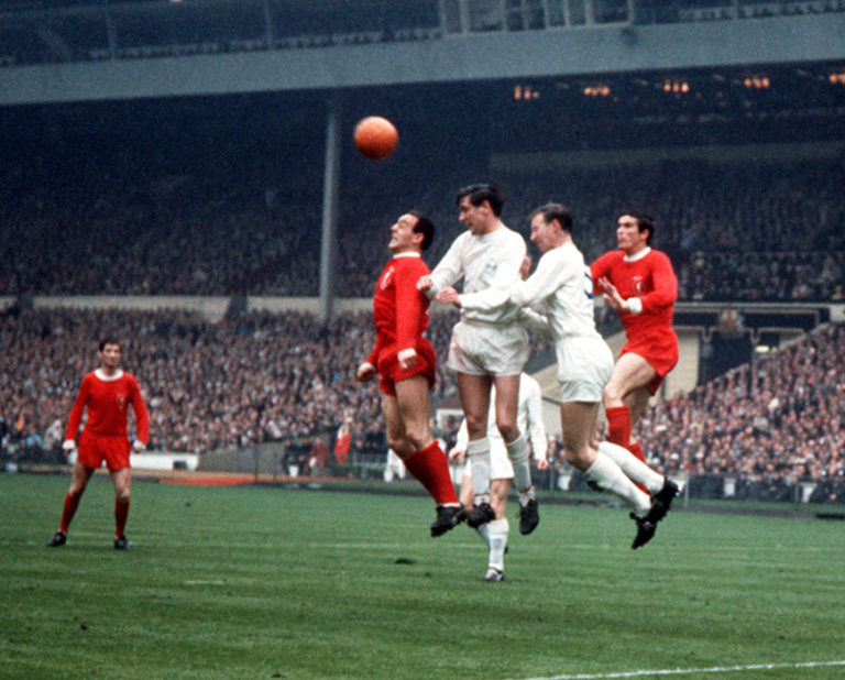 Norman Hunter formed a formidable defensive partnership with Jack Charlton at Leeds