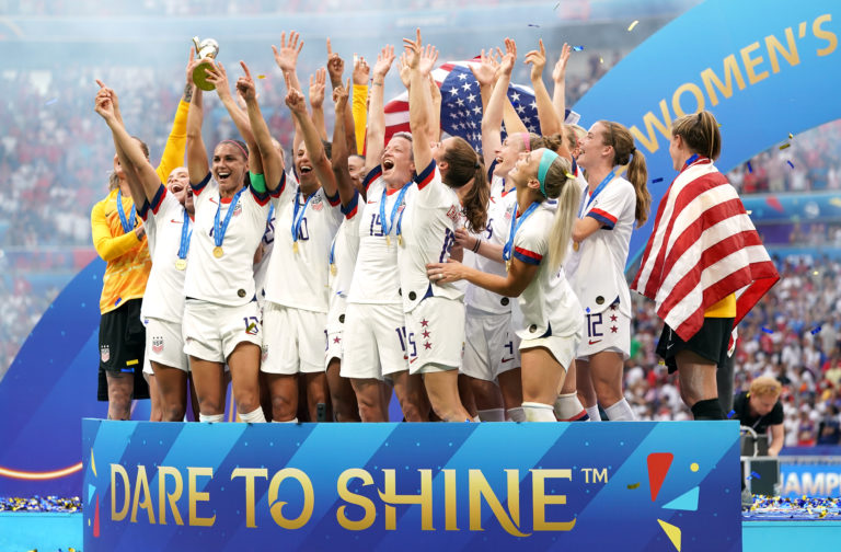 The USA are the reigning women's world champions