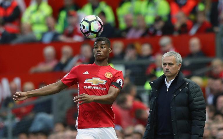 Marcus Rashford was a regular under Jose Mourinho