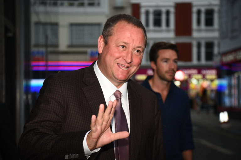 Mike Ashley is looking to sell Newcastle