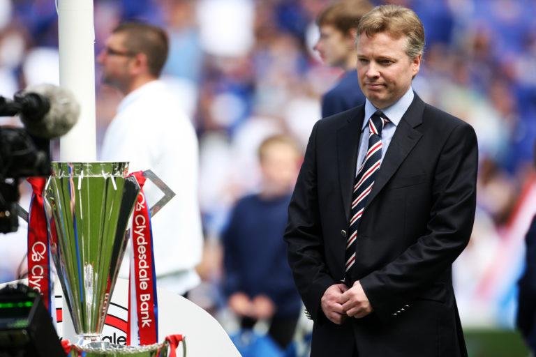 Soccer – Clydesdale Bank Scottish Premier League – Rangers v Heart of Midlothian – Ibrox Stadium