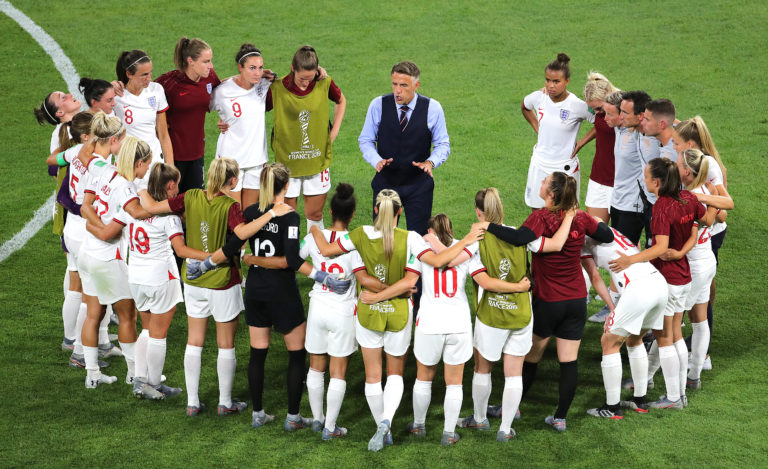 Phil Neville led England to the Women's World Cup semi-finals