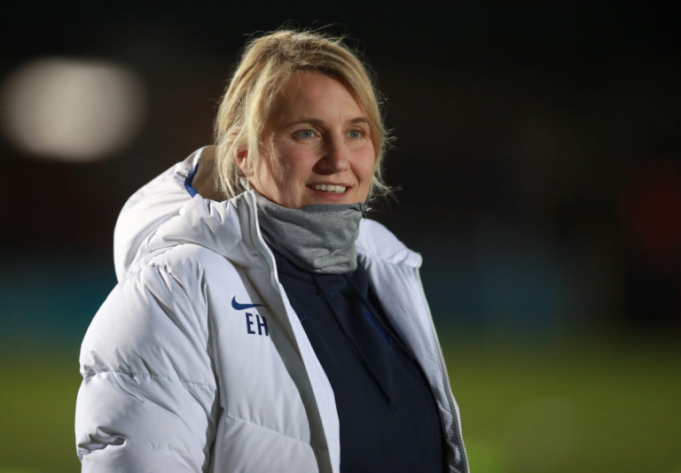 Chelsea head coach Emma Hayes is one of the favourites for the England job
