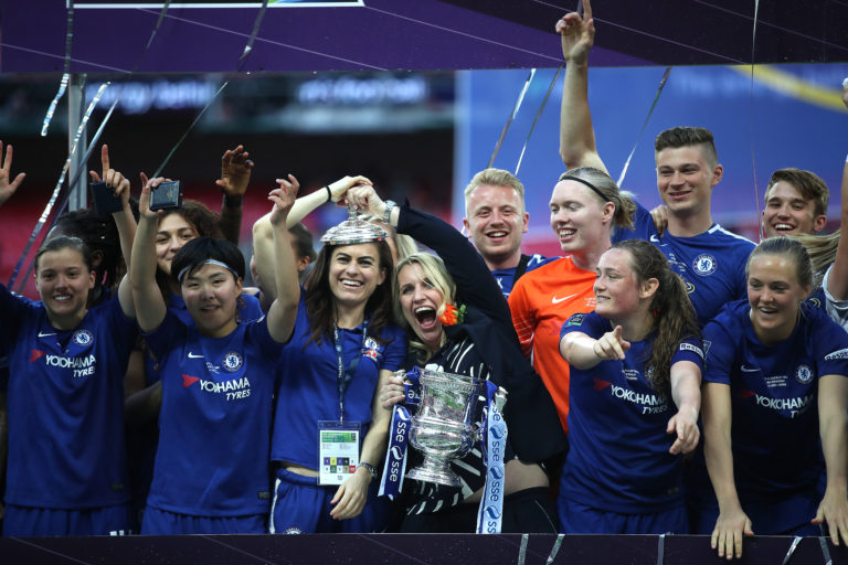 Emma Hayes has been at the Chelsea helm since 2012