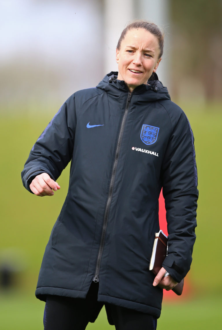 Casey Stoney worked as assistant coach to Phil Neville becoming Manchester United manager