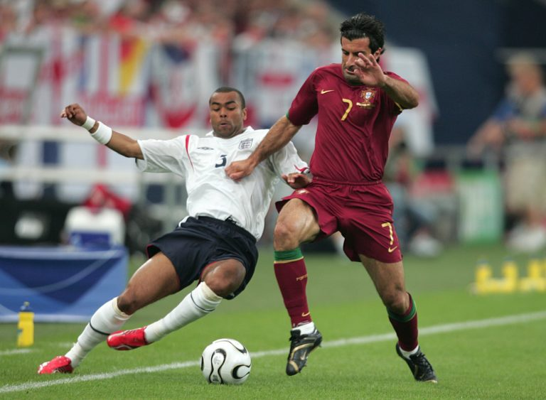 Ashley Cole was a regular for England