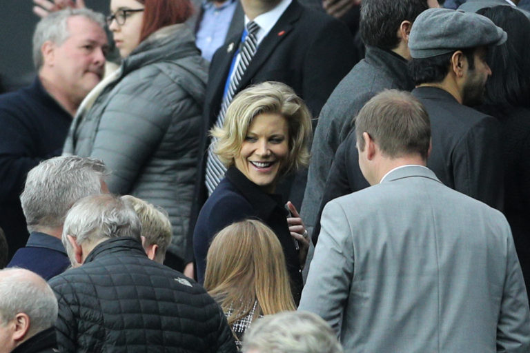 Businesswoman Amanda Staveley, centre, is spearheading the takeover of Newcastle