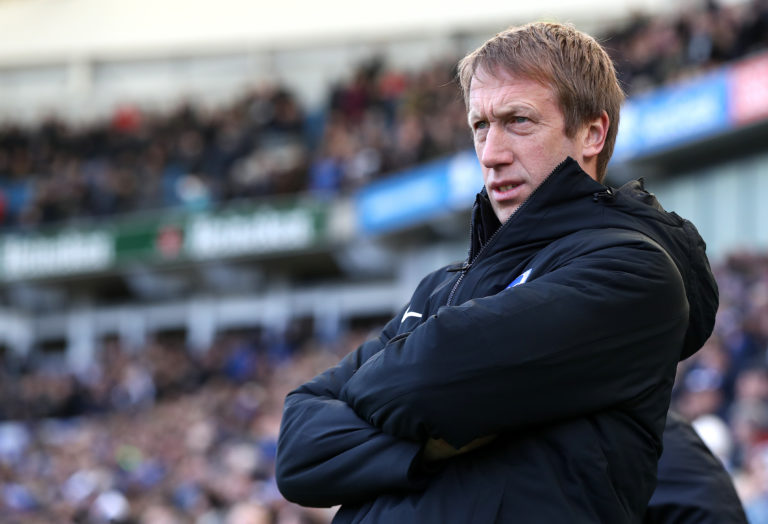 Graham Potter lost both of his parents in the last year, making this a tough time for him