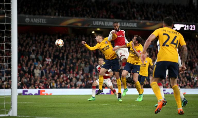 Arsenal v Atletico Madrid – UEFA Europa League – Semi Final – First Leg – Emirates Stadium