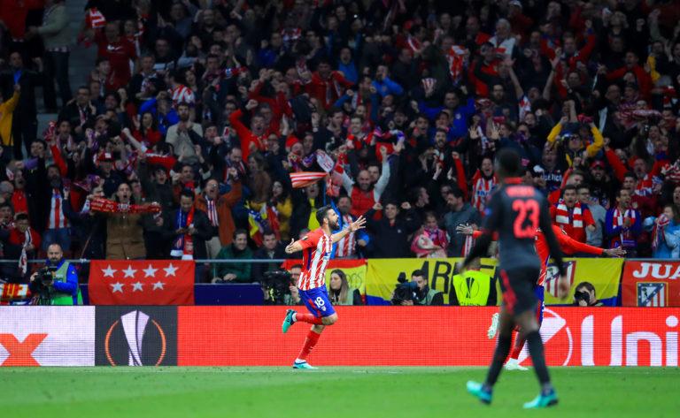 Atletico Madrid v Arsenal – UEFA Europa League – Semi Final – Second Leg – Wanda Metropolitano