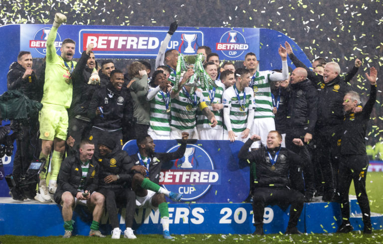 Celtic won the Betfred Cup