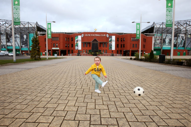 Celtic Park lies idle like all Scottish grounds