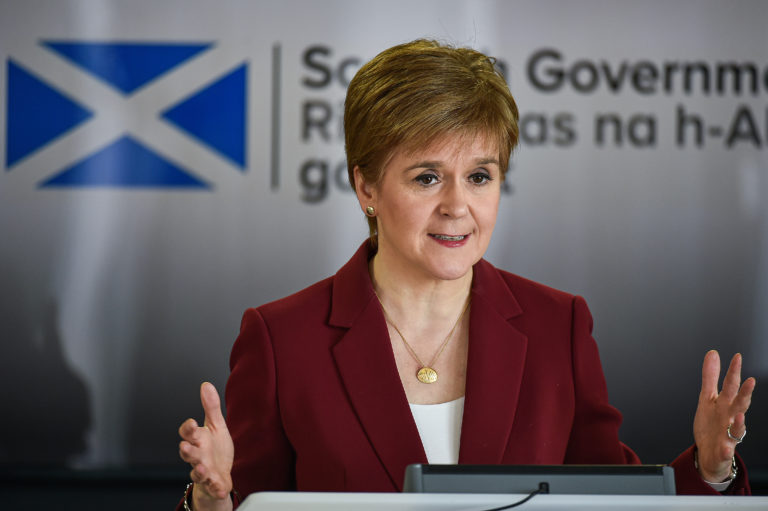 Nicola Sturgeon has been frank with football fans