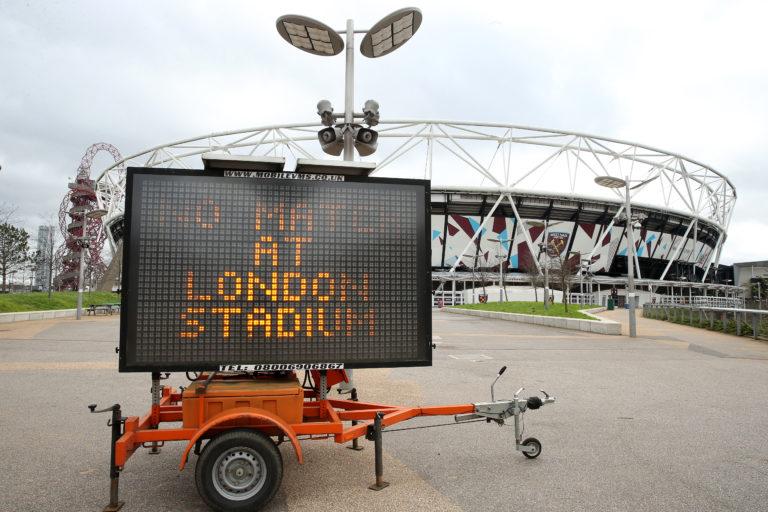 Football has shut down
