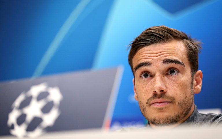 Harry Winks has the benefit of a strong support group.