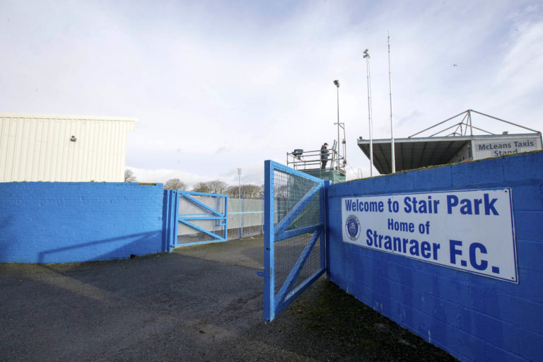 Relegated Stranraer backed Rangers' probe calls