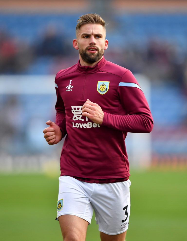 Charlie Taylor has been cycling on top of the work set out by Burnley